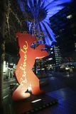 A atmosfera atende ao Berlinale Foto de Stock Royalty Free