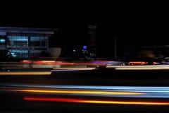 atmosfera da noite na cidade Fotos de Stock Royalty Free