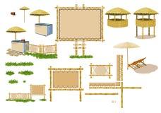 Atmosfera della spiaggia (mobilia) Immagini Stock Libere da Diritti