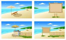 Atmosfera della spiaggia (mobilia) 1 Immagine Stock