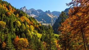 Atmosfera di autunno nel Allgaeu Immagine Stock Libera da Diritti