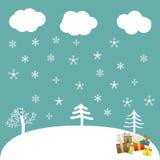 Atmosfera di Natale Illustrazione Vettoriale