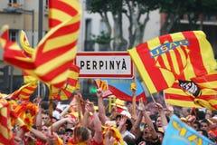 Atmosfera em Perpignan Imagem de Stock