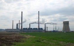 Atmosfera industrial poluir da tubulação Fotografia de Stock Royalty Free