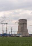 Atmosfera industrial poluir da tubulação Imagens de Stock