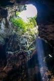 Atmosfera jama w Thailand fotografia royalty free