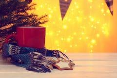 Atmosfera la vigilia del Natale Fotografia Stock Libera da Diritti