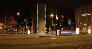 Atmosfera miasto ulicy Oxford bardzo szybko zdjęcie wideo