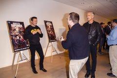 Atmosfera no reino da premier dos superman imagem de stock royalty free