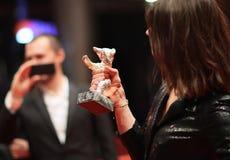 Atmosfera uczęszcza Berlinale Zdjęcia Royalty Free