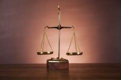 Atmosferische samenstelling met wet en rechtvaardigheidsmateriaal Royalty-vrije Stock Fotografie