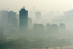 Atmosferische verontreiniging Royalty-vrije Stock Afbeeldingen