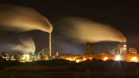 Atmosferyczny zanieczyszczenie powietrza Od Przemysłowego dymu Zdjęcie Stock