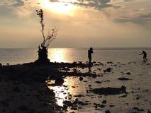 Atmosphäre auf tidung Insel Stockfotografie