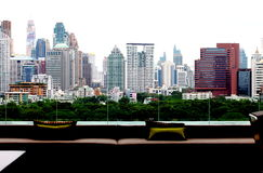 Atmosphäre das Kapital, ein anderer Winkel in Bangkok Stockfotografie