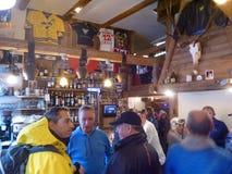 Atmosphärischer Apres-Ski Lizenzfreie Stockfotos