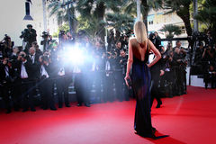 Atmospher during the 68th annual Cannes Film Festival Royalty Free Stock Photography