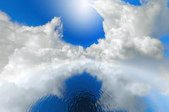 Atmosphere. Eternal atmosphere, concept, ecology background royalty free stock photo