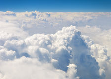 Atmosphere. Sky and clouds background Stock Image