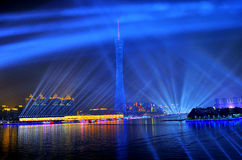 Atmosphere of the 16th Asian Games Decoration Stock Image