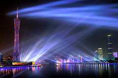 Atmosphere of the 16th Asian Games Decoration Stock Images