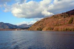 Atmosphere around Lake Ashi, Japan. Royalty Free Stock Photography