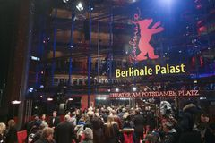 Atmosphere attends the Berlinale Stock Photos