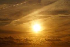 Atmosphere, Birds, Cloud stock photo