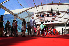 Atmosphere Cannes Film Festival Stock Image