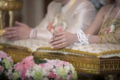 The atmosphere in the ceremony and party. Royalty Free Stock Photography