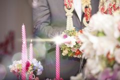 The atmosphere in the ceremony and party. Stock Photos