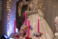 The atmosphere in the ceremony and party. Stock Photography