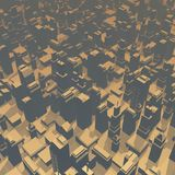 Atmosphere city Royalty Free Stock Image