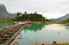 Atmosphere Floating Resort Stock Photos