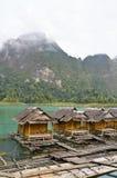 Atmosphere floating resort Royalty Free Stock Image