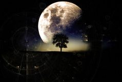 Atmosphere, Moon, Sky, Astronomical Object Stock Photos