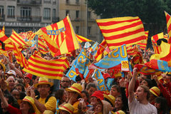 Atmosphere in Perpignan Royalty Free Stock Images