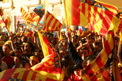 Atmosphere in Perpignan during the final of top 14 Royalty Free Stock Image