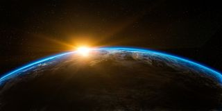 Atmosphere, Planet, Earth, Outer Space royalty free stock images