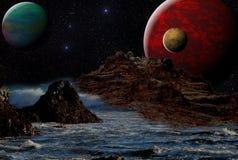 Atmosphere, Planet, Outer Space, Phenomenon stock image