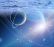 Atmosphere and planets Stock Photos