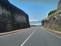 Atmosphere Road Of Pandawa Beach stock photos