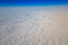 Atmospheric cloudscape from high angle view. Stock Photography