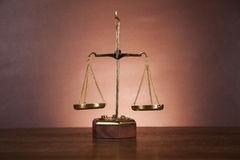 Atmospheric composition with law and justice stuff Royalty Free Stock Photography