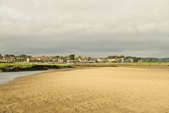 Atmospheric day on the coast. stock photography