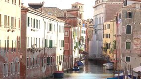 Atmospheric frame of Venice, an empty Venice without people