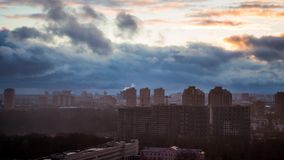 Atmospheric Front stock footage