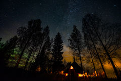 Atmospheric night landscape Royalty Free Stock Photography