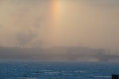 Atmospheric phenomenon Halo Royalty Free Stock Photography