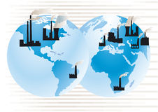 Atmospheric pollution Stock Images